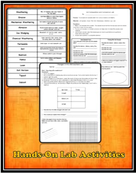 Earth Science Mega Bundle Notes, Labs, Learning Activities