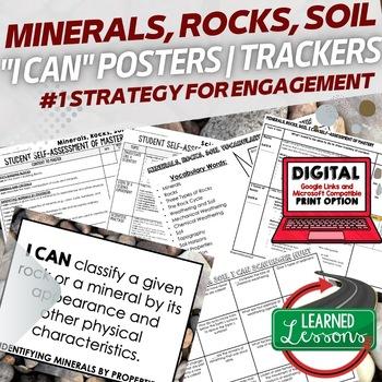 Earth Science Minerals, Rocks, & Soil Student Self-Assemen