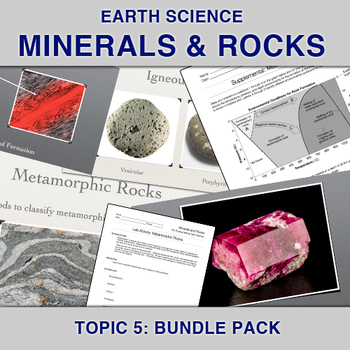 Earth Science: Minerals and Rocks