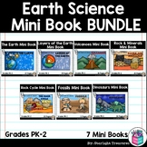 Earth Science Mini Book Bundle: Rock Cycle, Rock & Minerals, Volcanoes, Geology