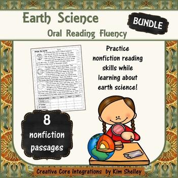 Earth Science Nonfiction Fluency BUNDLE
