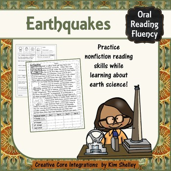 Earth Science Nonfiction Fluency - EARTHQUAKES