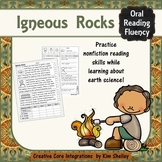 Earth Science Nonfiction Fluency - IGNEOUS ROCKS