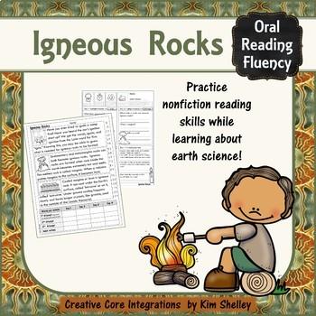 Earth Science Nonfiction Fluency - IGNEOUS ROCKS