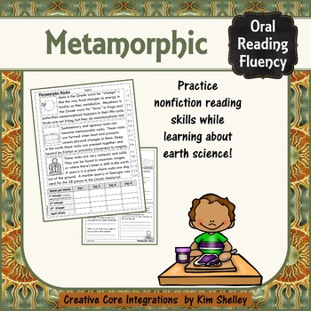 Earth Science Nonfiction Fluency - METAMORPHIC