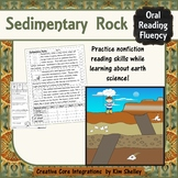 Earth Science Nonfiction Fluency - SEDIMENTARY ROCK