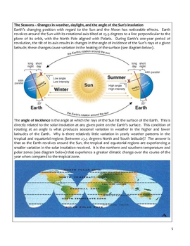 High School Earth Science Notes - Motion of the Planets