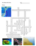 Earth Science - Ocean - The Bottom of the Ocean - Crossword Puzzle
