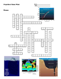 Earth Science - Oceans - Properties of Ocean Water Crossword Puzzle