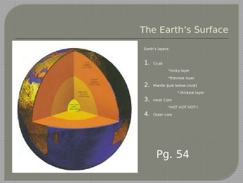 Earth Science PPT