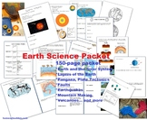 Earth Science Packet: Earth Layers, Plate Tectonics, Earth