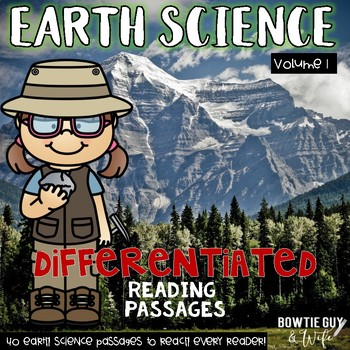 Earth Science Passages 40 leveled nonfiction texts with comprehension activities