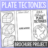 PLATE TECTONICS: Earth Science Research Brochure Template Project