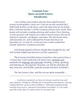 Earth Science -- Plate Tectonics U1/L3