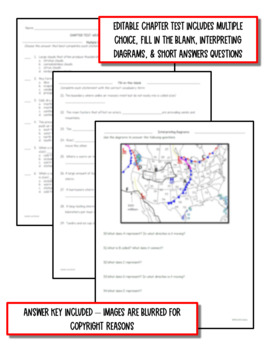 Weather & Climate: Earth Science PowerPoint, Notes & Test ~ EDITABLE!