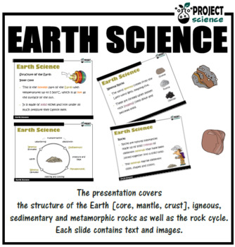 Earth Science PowerPoint and Worksheets