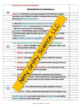 Earth Science Curriculum: PowerPoints, Notes, Chapter Tests Bundle ~ EDITABLE