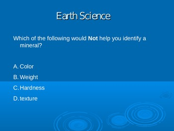 Earth Science Powerpoint