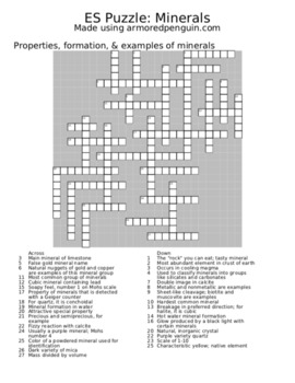 Earth Science Puzzles: 18 Puzzle Mega-Pack!