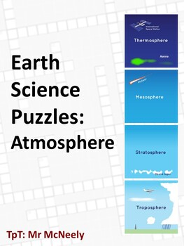 Earth Science Puzzles: Atmosphere