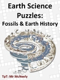 Earth Science Puzzles: Fossils & Earth History
