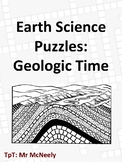 Earth Science Puzzles: Geologic Time