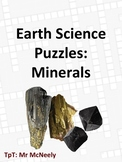 Earth Science Puzzles: Minerals