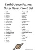 Earth Science Puzzles: Outer Planets