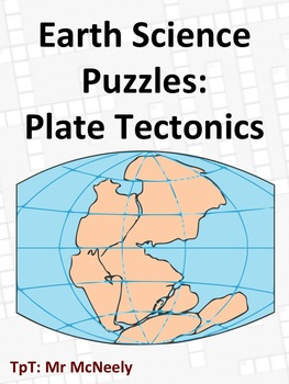 Earth Science Puzzles Plate Tectonics