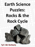 Earth Science Puzzles: Rocks & the Rock Cycle