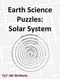 Earth Science Puzzles: Solar System