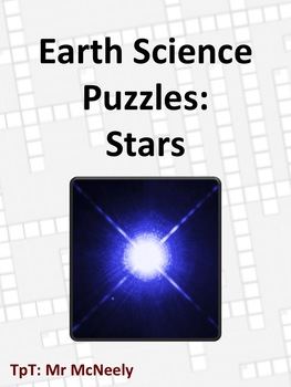 Earth Science Puzzles: Stars