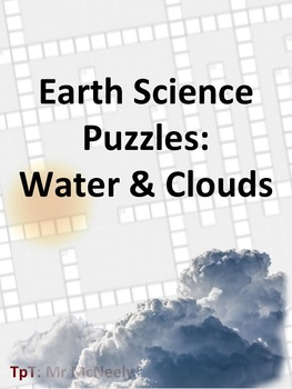 Earth Science Puzzles: Water & Clouds