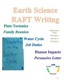 Earth Science RAFT Writings