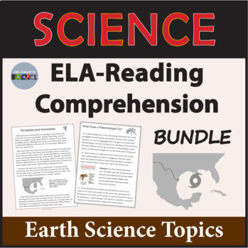 Earth Science Reading Comprehension Passages and Questions