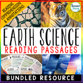 Earth Science Reading Passages   Distance Learning
