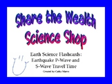 Earth Science Reference Table Flashcards- Earthquake Trave