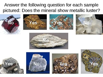 Earth Science Reference Table Flashcards- Properties of Common Minerals