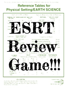 ESRT Review Game (Earth Science Reference Tables)