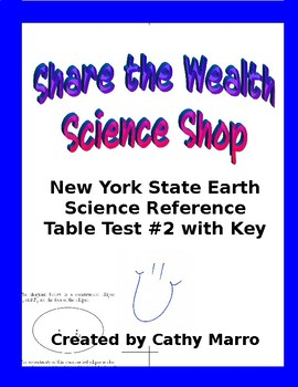 Earth Science Reference Table Test #2