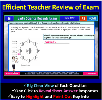 Earth Science Regents PowerPoint Spectacular - June 2017 Physical Setting Exam