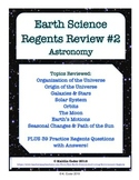 Earth Science Regents Review 2 - Astronomy