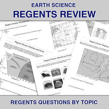Earth Science: Regents Review