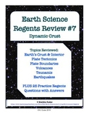 Earth Science Regents Review 7 - Dynamic Crust