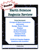 Earth Science Regents Review Packets *EDITABLE BUNDLE*