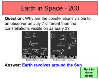 Earth Science Regents Review Game Bundle (EDITABLE)
