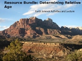 Earth Science Resource Bundle: Determining Relative Ages