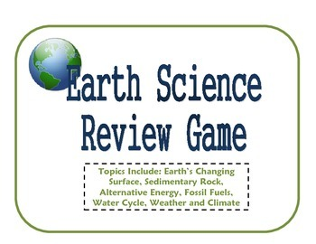 Earth Science Review Game