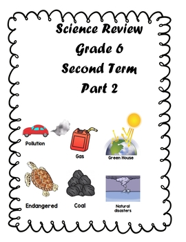 Earth Science Review Grade 6 Path 2