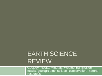 Earth Science Common Core Review Questions! Over 110 Slides!
